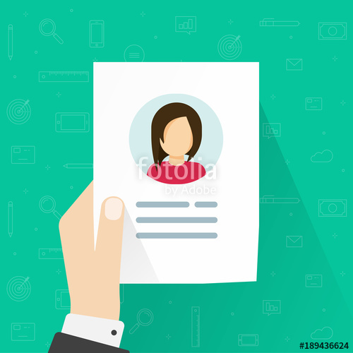 Account profile clipart image free library Personal info data icon vector illustration isolated, flat cartoon ... image free library