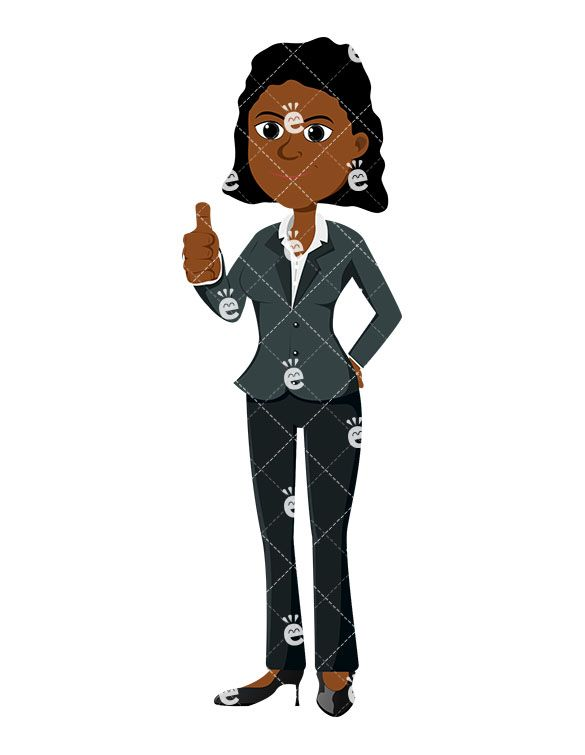 Accounting boss clipart
