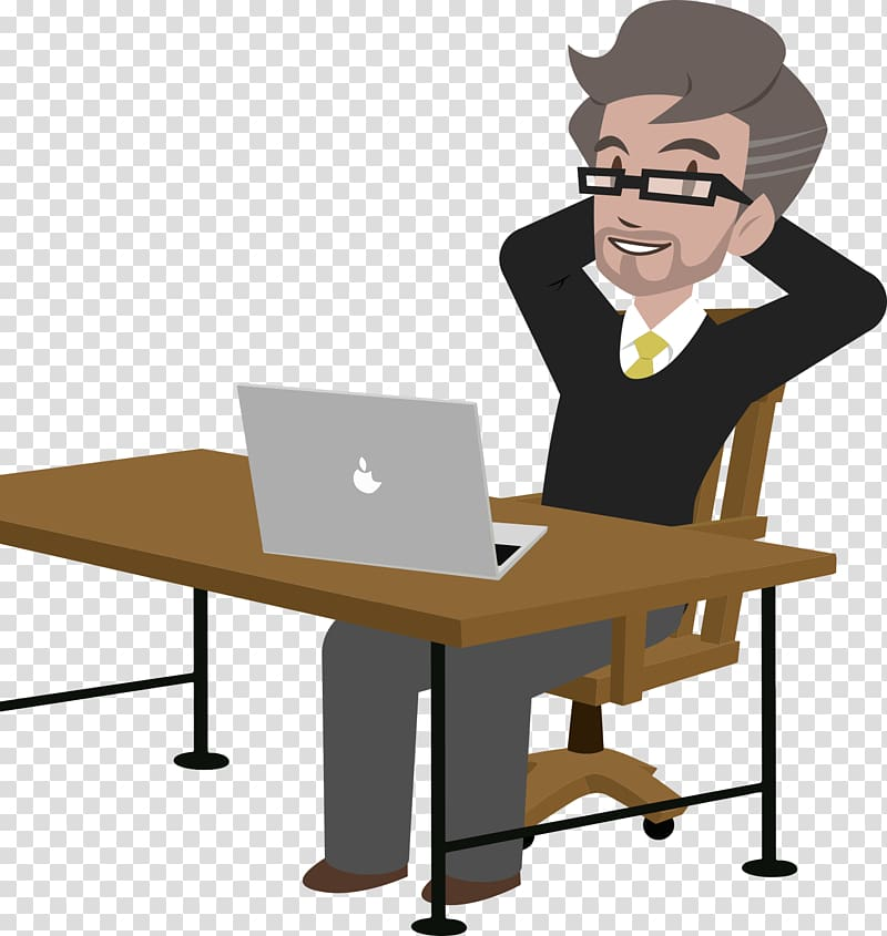 Accounting boss clipart royalty free download Accounting software Accountant Invoice Business, desk transparent ... royalty free download