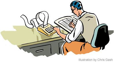 Accounting finance clipart