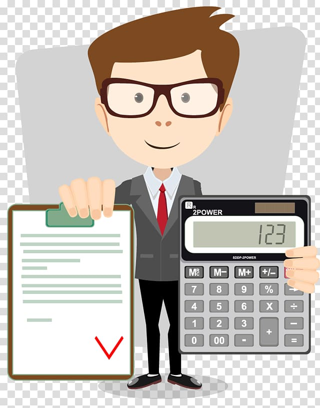 Accounting leadership clipart svg royalty free stock Man holding calculator , Accountant Accounting Cartoon, accounting ... svg royalty free stock