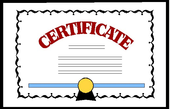 Certficate clipart picture Accreditation Clipart - Clip Art Library picture