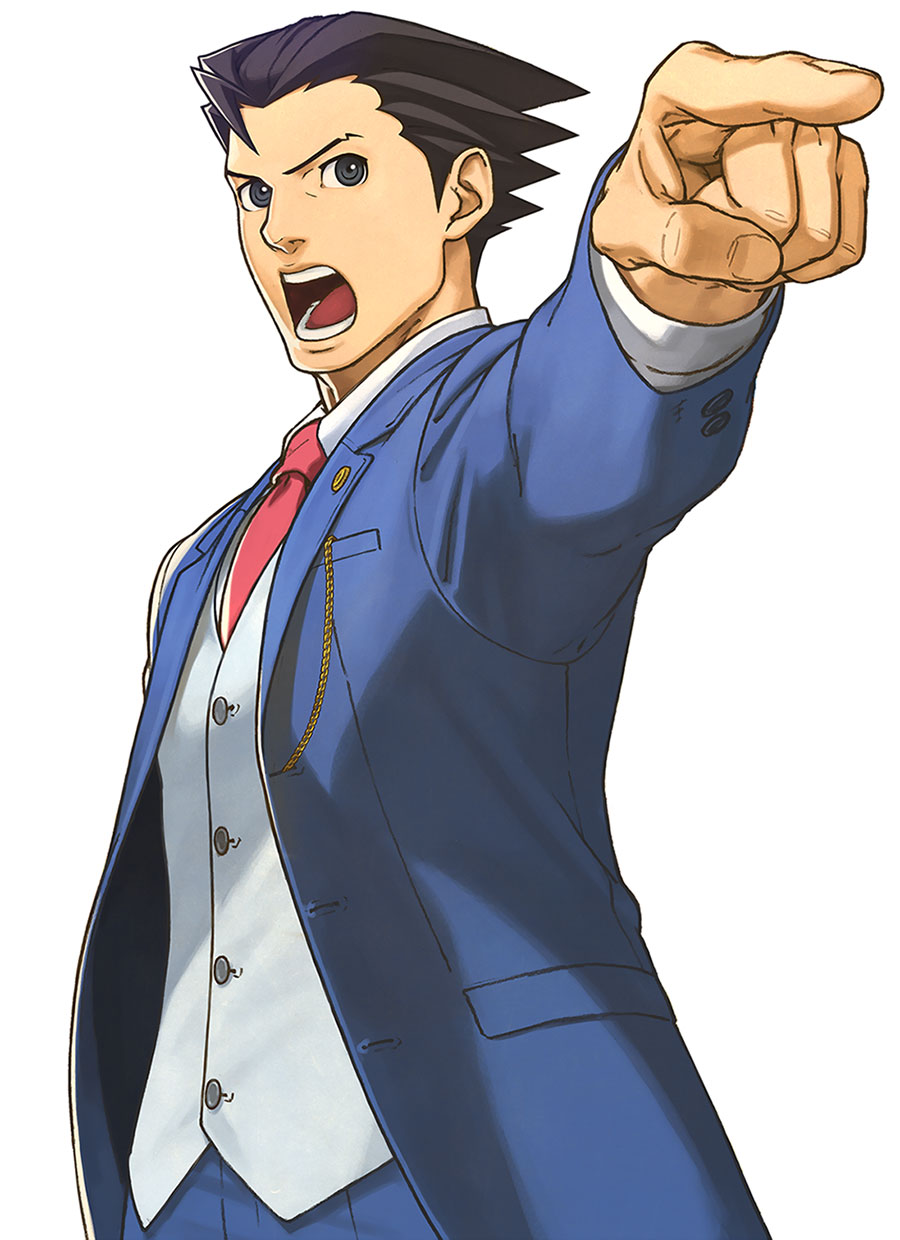 Phoenix wright clipart - ClipartFox png royalty free stock