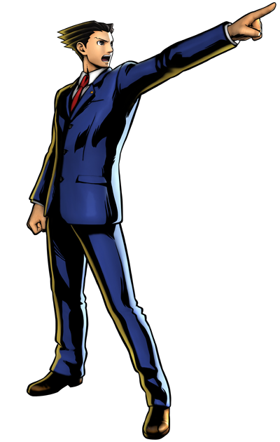 Ace attorney clipart - ClipartFest image freeuse download