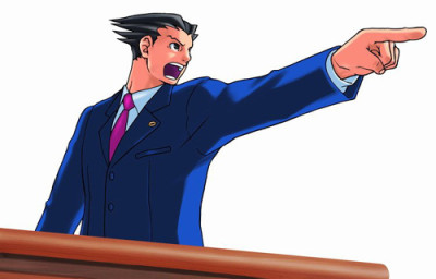 Ace attorney clipart - ClipartFest clip freeuse library