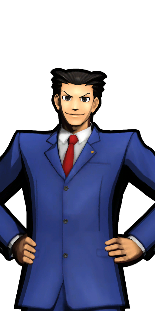 Ace attorney clipart - ClipartFest png black and white library