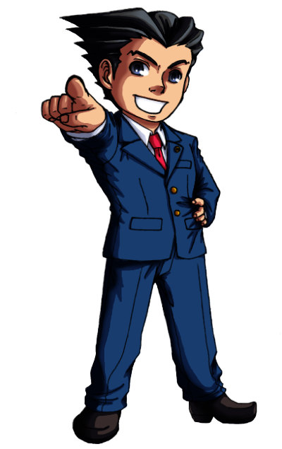 Ace attorney clipart - ClipartFest clipart