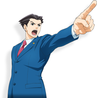 Ace Attorney PNG Transparent Images | Free Download Clip Art ... png black and white