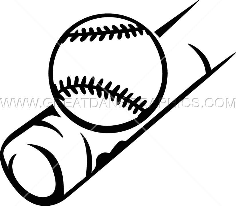 Broken baseball bat clipart picture black and white Baseball Bat Drawing at GetDrawings.com | Free for personal use ... picture black and white