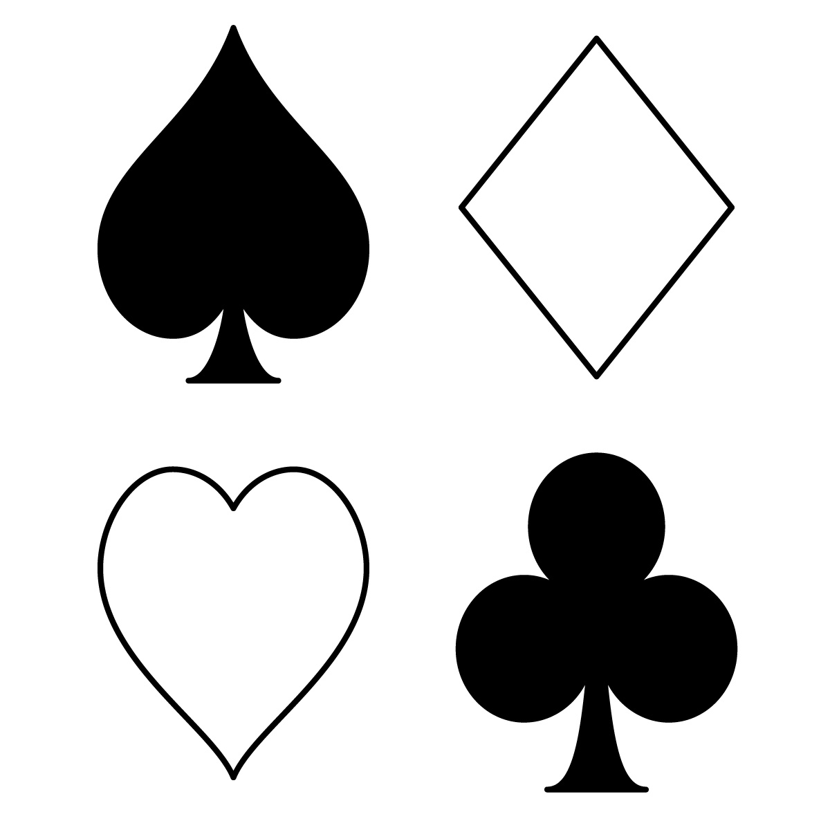 Ace card clip art image free library Ace Playing Card Clipart - Clipart Kid image free library