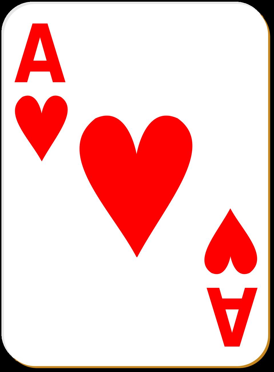 Ace card clipart jpg library Ace Of Clubs Playing Card Clipart - Clipart Kid jpg library
