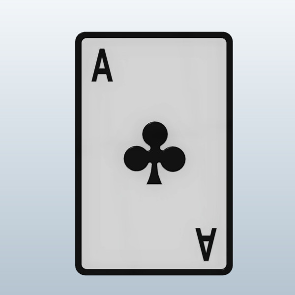 Ace card clipart svg royalty free download Ace Playing Card Clipart - Clipart Kid svg royalty free download
