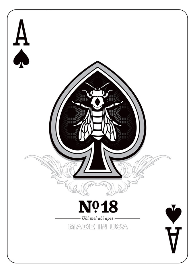 Ace card render clipart clip library stock Honeybee Elite Edition Playing Cards by Penguin Magic — Kickstarter clip library stock