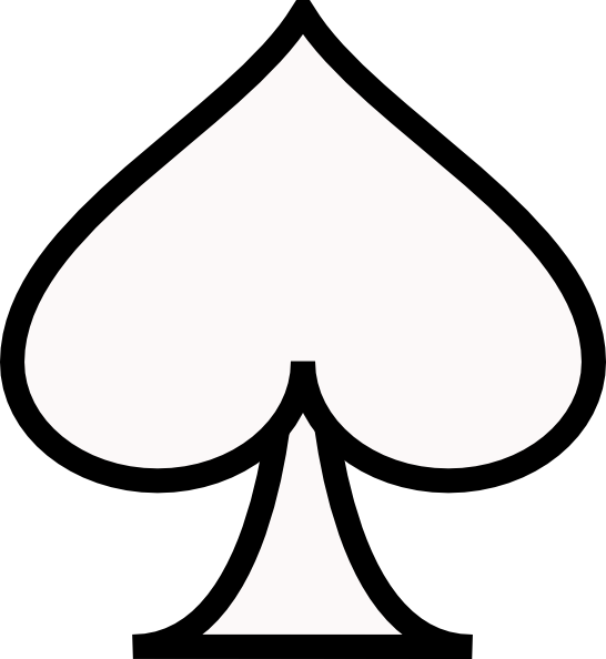 Ace of spades clip art. Clipart cute picture uploaded
