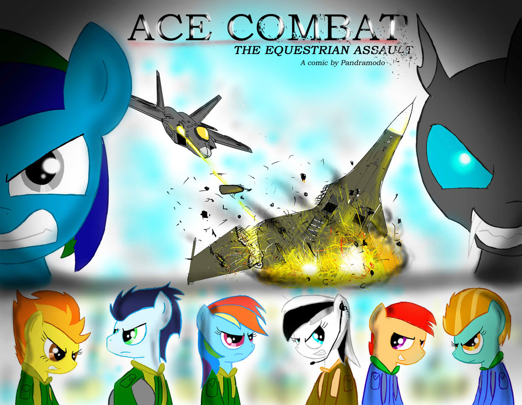 Ace combat clipart vector royalty free stock Ace Combat: The Equestrian Assault official cover by Pandramodo on ... vector royalty free stock