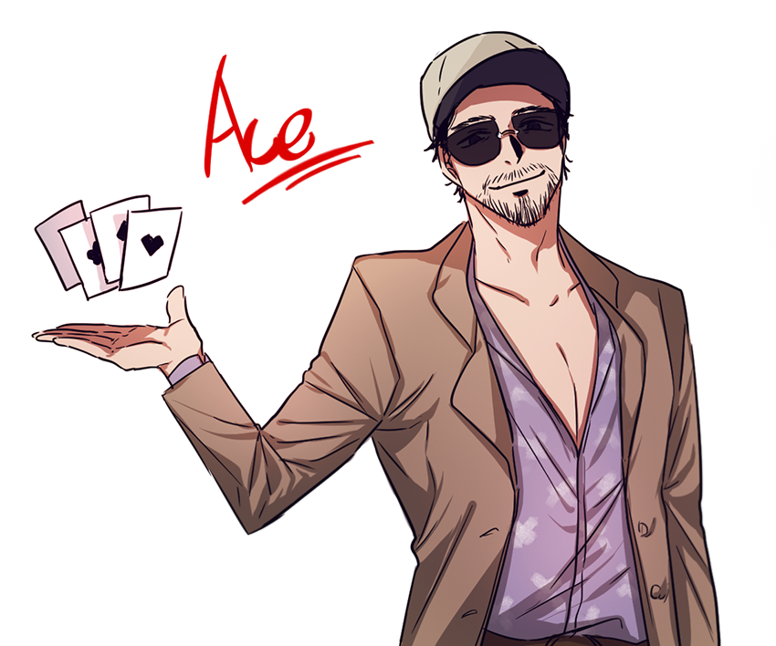 Ace dead by daylight clipart