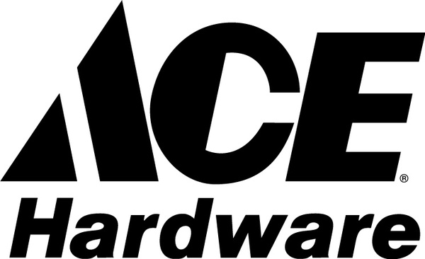 ACE hardware logo Free vector in Adobe Illustrator ai ( .ai ... clipart black and white