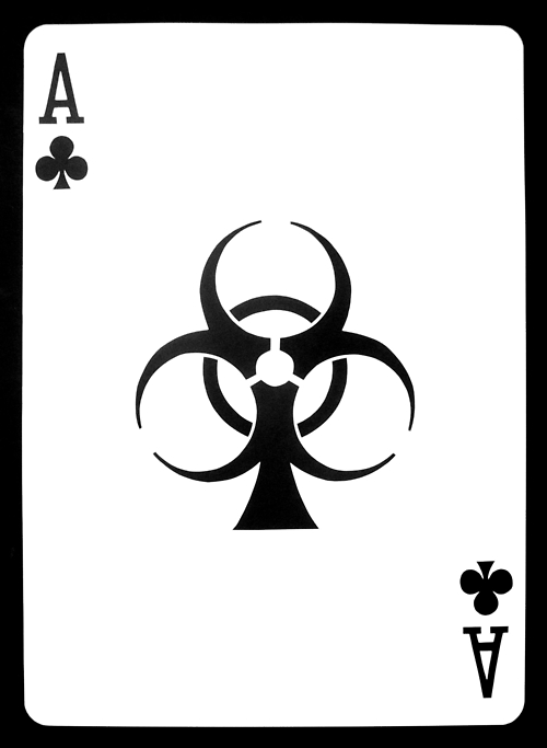 Playing cards free download. Ace of clubs clipart
