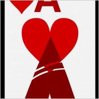 Ace Of Hearts Clipart - Clipart Kid clipart royalty free