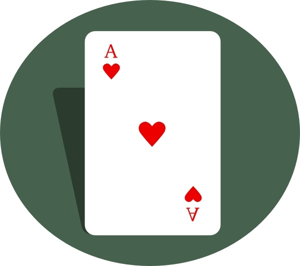 Ace Of Hearts clip art Free vector in Open office drawing svg ... png transparent stock