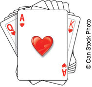 Ace of hearts Clipart Vector and Illustration. 1,024 Ace of hearts ... freeuse