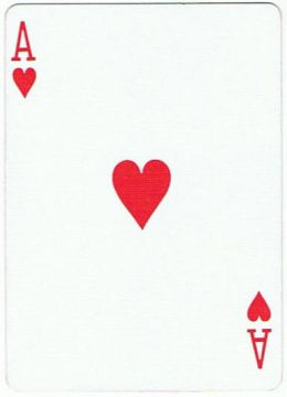 Ace of hearts clip art - ClipartFest clip art black and white stock