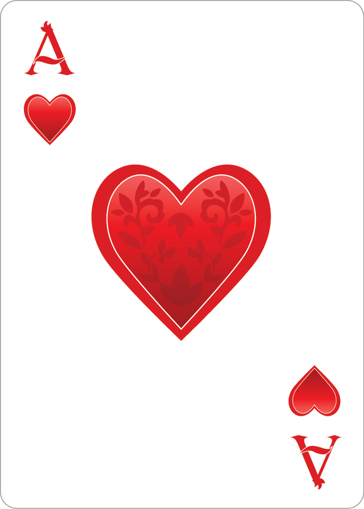 Ace of hearts clipart - ClipartFest transparent download
