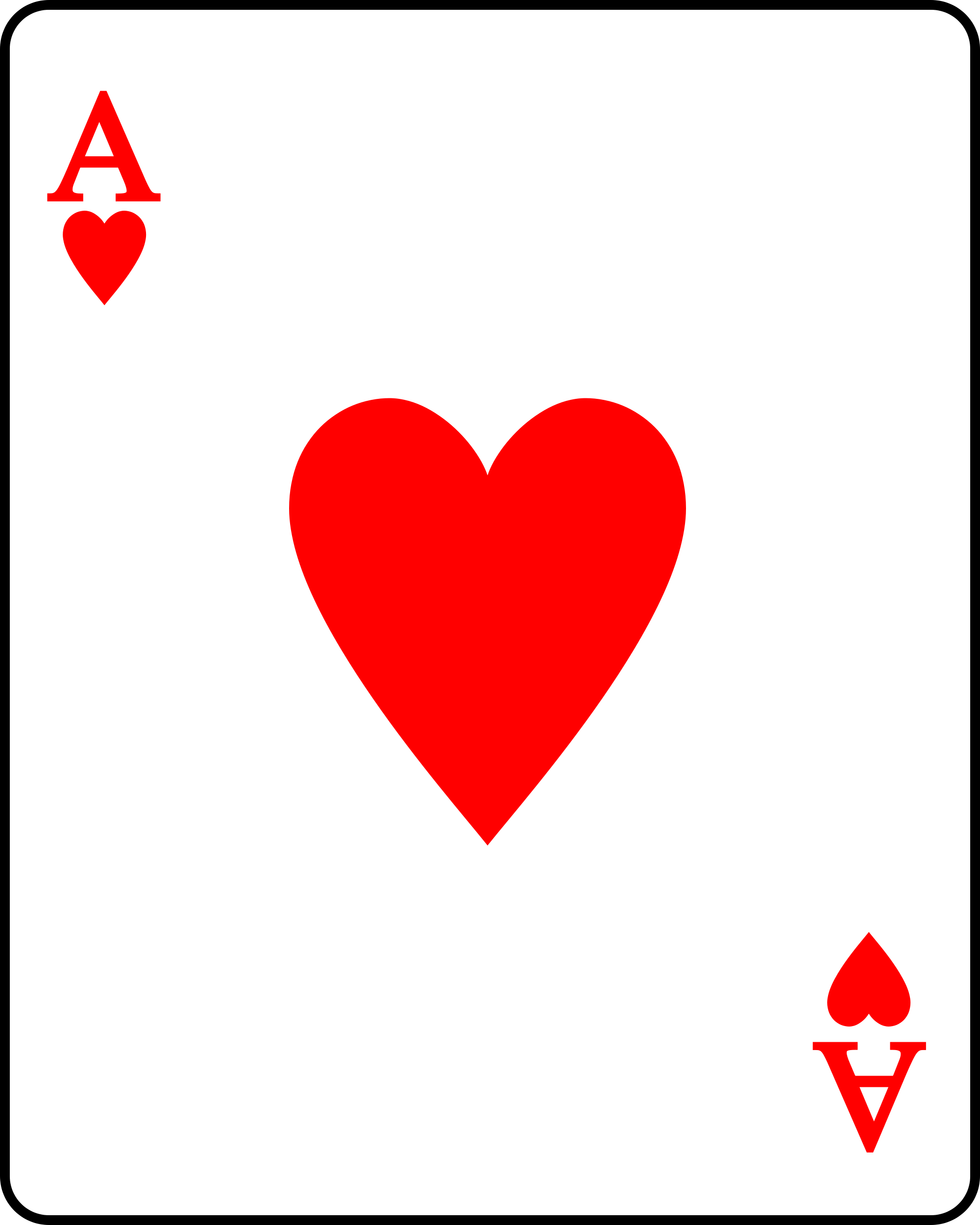 Ace of hearts clipart picture freeuse stock Ace Hearts Card - ClipArt Best picture freeuse stock