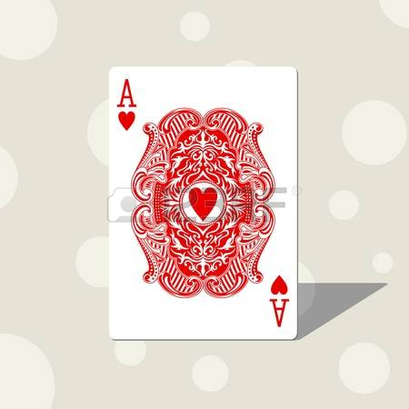 Ace of hearts clipart svg library 6,161 Ace Of Hearts Stock Vector Illustration And Royalty Free Ace ... svg library