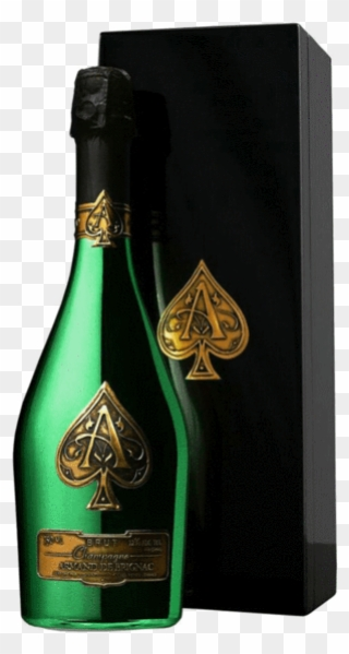 Ace Of Spades Champagne Png Transparent Background - Armand De ... clipart free library