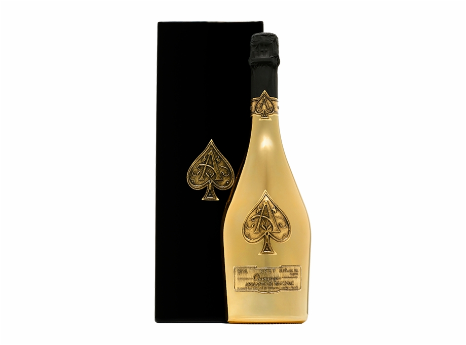 Armand De Brignac Gold Ace Of Spades Champagne, France - Ace Of ... jpg transparent library