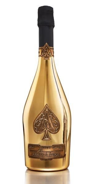 Armand de Brignac Ace of Spades Gold Brut, Champagne, France (750ml ... banner free download