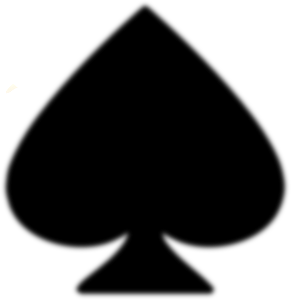 Ace of spades clip art. Spade at clker com