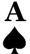 Ace of spades clipart. Best