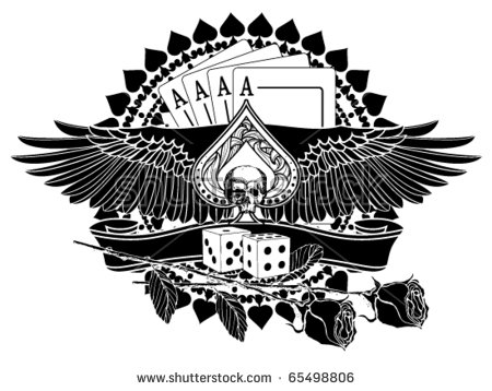 Ace Of Spades Stock Images, Royalty-Free Images & Vectors ... graphic black and white library