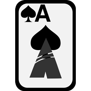 Ace of Spades clipart, cliparts of Ace of Spades free download ... image black and white download