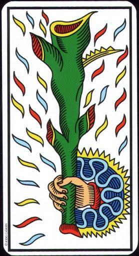 Tin mới Lá Ace of Wands - Tarot of Marseilles bài tarot | Tìm hiểu ... clipart