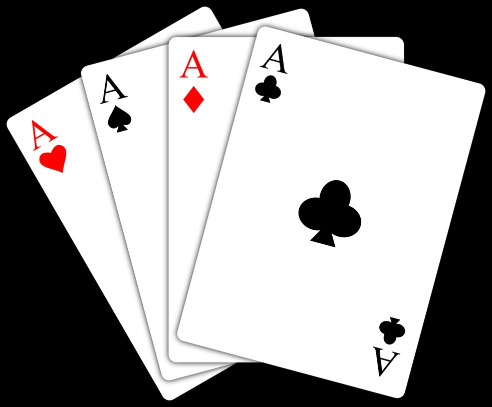 Cards images free download. Ace playing card clipart