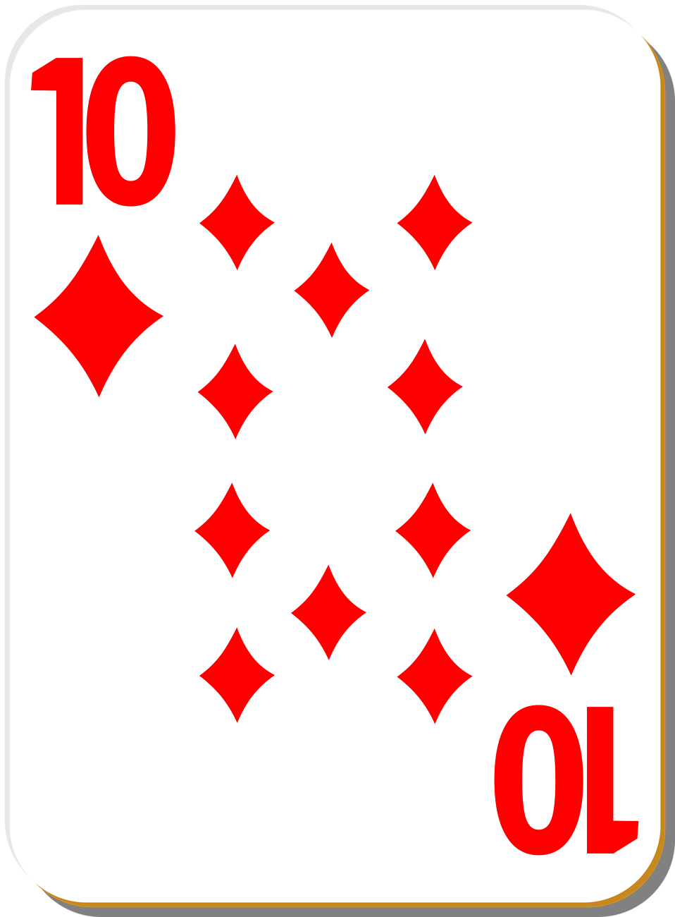 Ace playing card clipart. Individual kid clip art
