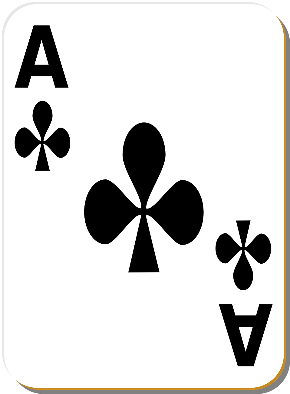 Aces cards clipartfest of. Ace playing card clipart