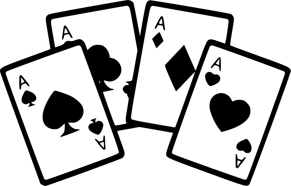 Ace playing card clipart graphic library stock Four Aces Cards Poker Game Svg Png Icon Free Download (#561221 ... graphic library stock