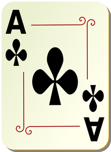 Ace playing cards clipart free black and white 1673 playing cards clipart free download | Public domain vectors black and white