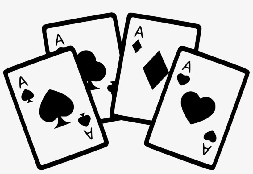 Ace playing cards clipart free svg transparent download Ace Playing Card Clipart - Cartas De Poker Png Transparent PNG ... svg transparent download