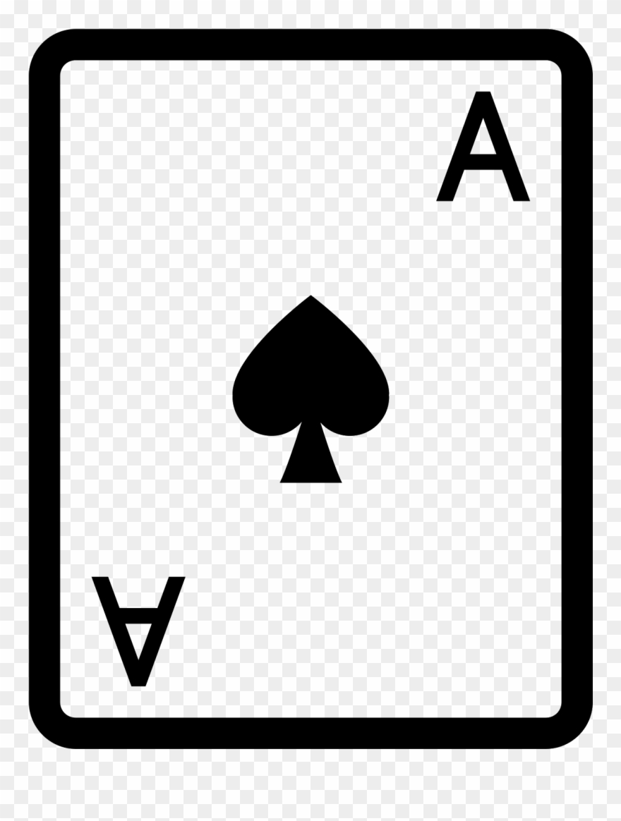 Aces clipart clip art black and white download Svg Freeuse Download 4 Vector Aces - Ace Of Hearts Icon Clipart ... clip art black and white download