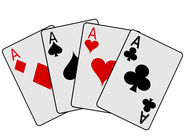 All in poker clipart banner black and white download Playing Cards Clipart & Look At Clip Art Images - ClipartLook banner black and white download