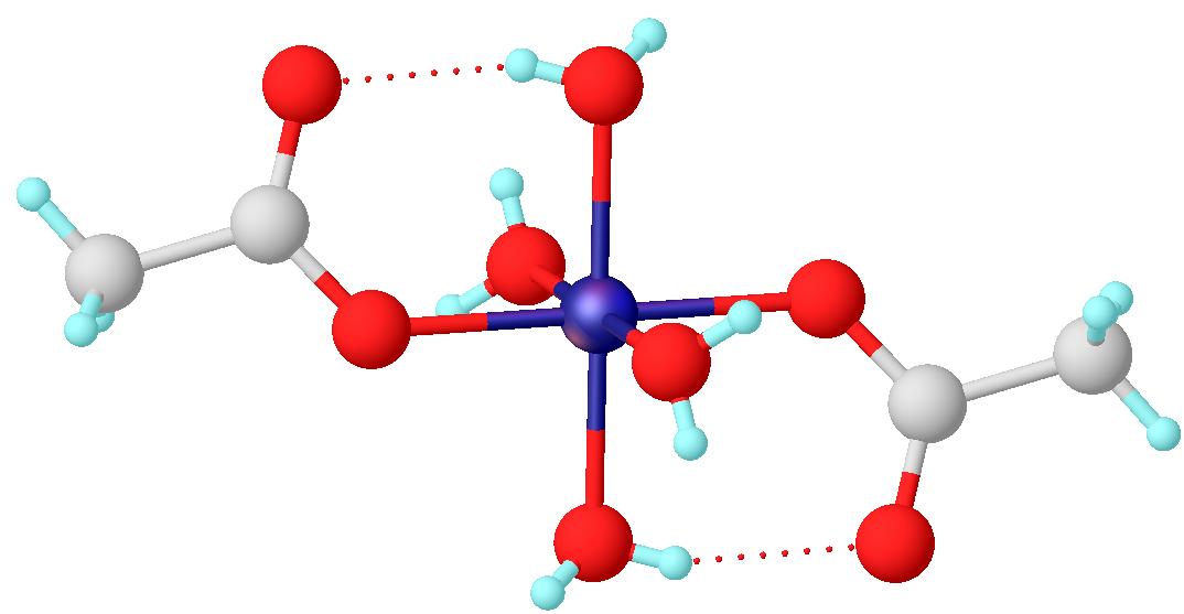 Acetate molecule clipart free stock Cobalt(II) acetate - Wikipedia free stock