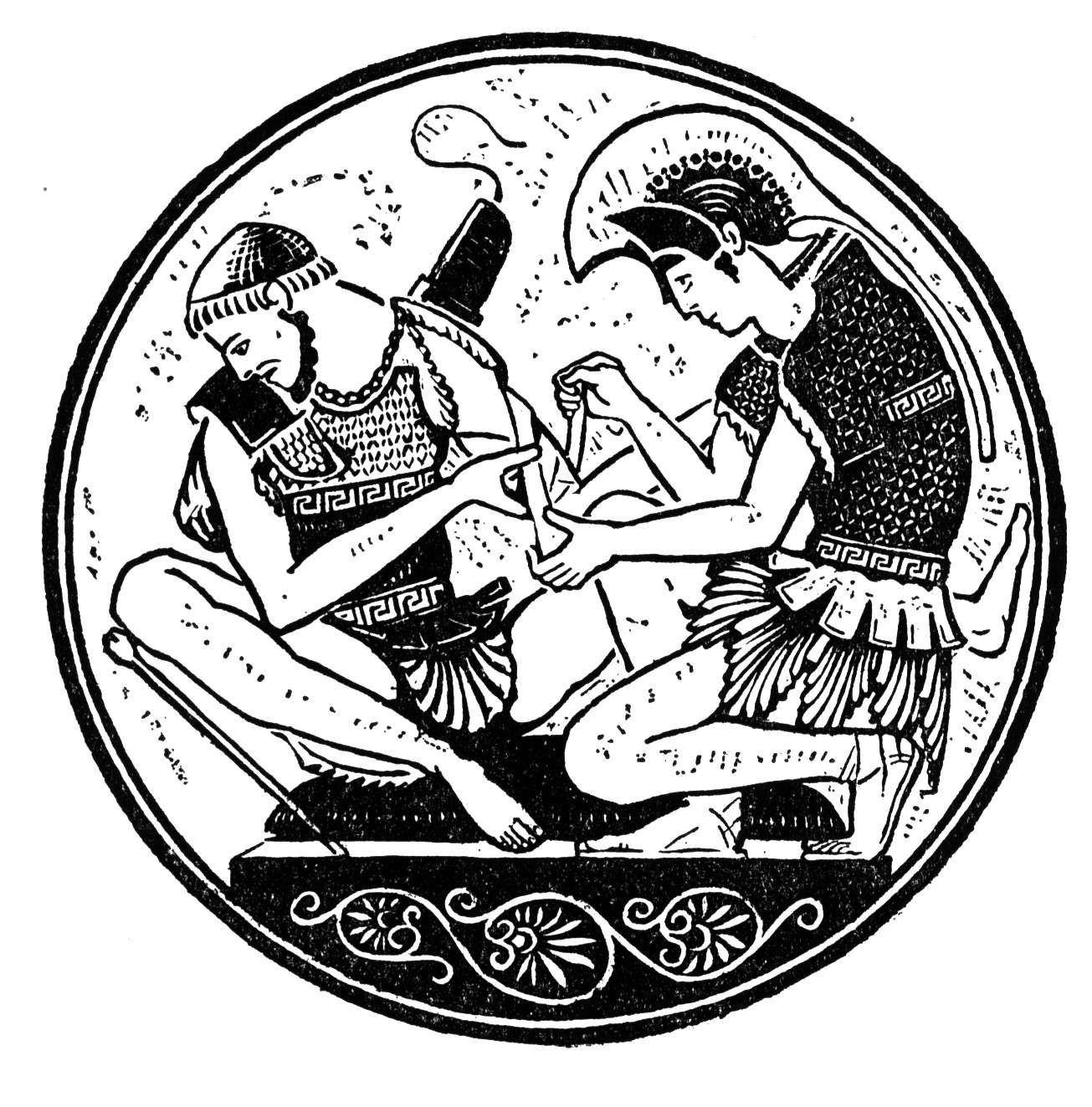 Achilles armor clipart clip art transparent library Summary of Iliad Book XVI: the Death of Patroclus clip art transparent library