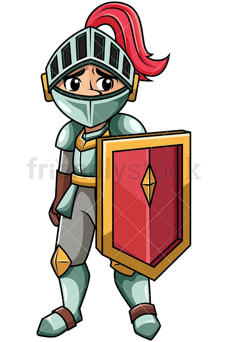 Achilles armor clipart clip free Sad Knight Humiliated After Defeat | Vector Illustrations | Vector ... clip free