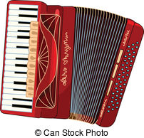 Acordeon clipart clip art royalty free library Accordion Clip Art and Stock Illustrations. 7,344 Accordion EPS ... clip art royalty free library