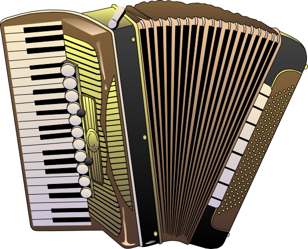 Accordion pictures clipart free stock Accordion Clip Art at Clker.com - vector clip art online, royalty ... free stock